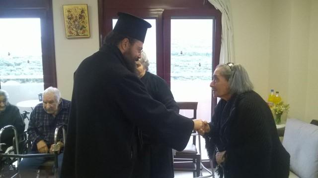 Επίσκεψη του Σεβασμ. Μητροπολίτου κ. Γερασίμου επί τη Εορτή των Χριστουγέννων και τη ενάρξει του νέου έτους