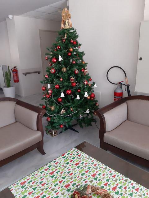 Στολισμός Χριστουγέννων στο Κέντρο Φροντίδος Ηλικιωμένων
